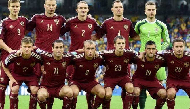 Foto: Toţi jucătorii din naţionala Rusiei de la CM-2014 sunt vizaţi de o anchetă de dopaj