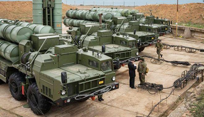 Foto: Rusia va urgenta livrarea rachetelor S-400 către Turcia
