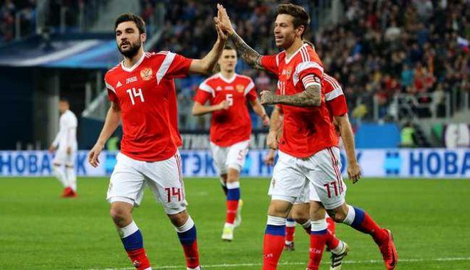 Foto: CM 2018 / Rusia - Arabia Saudită 5-0. Rușii au marcat două goluri în ultimele 5 minute