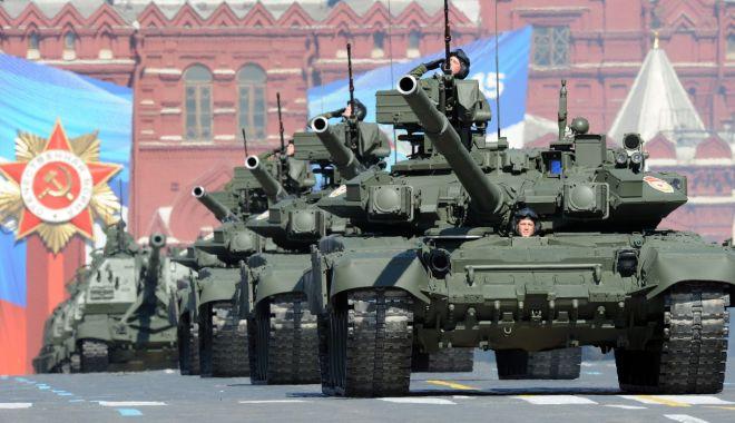 Foto: Alarmant! Rusia ar pregăti o invazie în Ucraina din trei direcţii