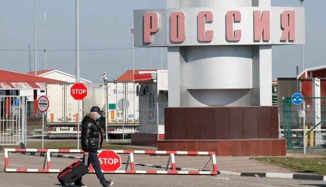 Foto: Rusia își închide frontierele pentru a preveni agravarea epidemiei