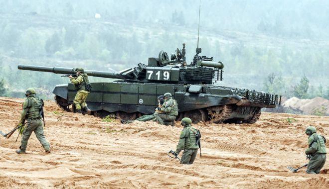 Foto: Alertă la NATO! Rusia începe cel mai mare exerciţiu militar din istorie