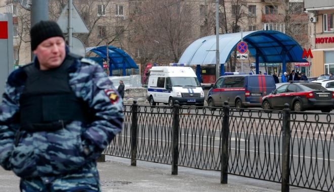Foto: Peste 20.000 de oameni, evacuați la Moscova din cauza unor amenințări cu bombă