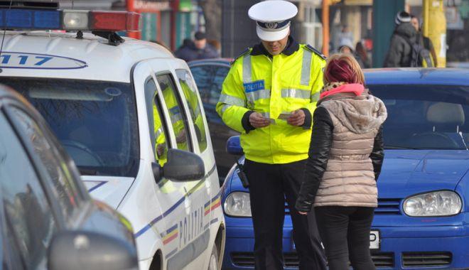 Foto: Şoferi şi pietoni, atenţie! Poliţia Rutieră, în acţiune la Constanţa!