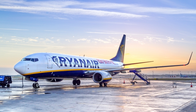 Foto: Ryanair a anunţat lista zborurilor ANULATE. Între ele sunt şi trei curse din România