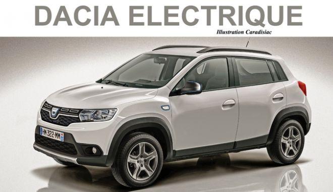 Foto: Dacia pregătește prima mașină electrică. Unde și când va fi lansată