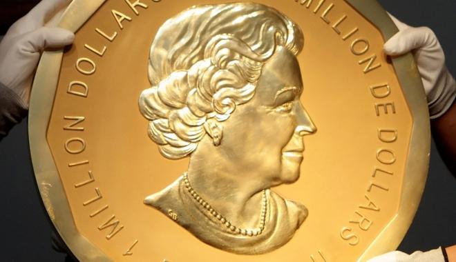 Foto: Spargerea secolului, în Germania. Monedă de aur de 100 kilograme, furată dintr-un muzeu