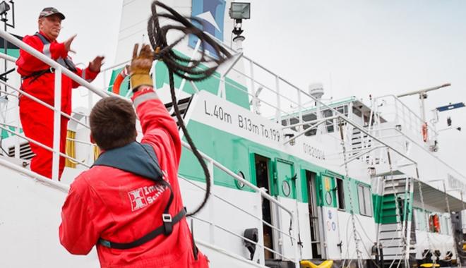 Foto: Salariul minim al navigatorilor rămâne neschimbat până în 2018