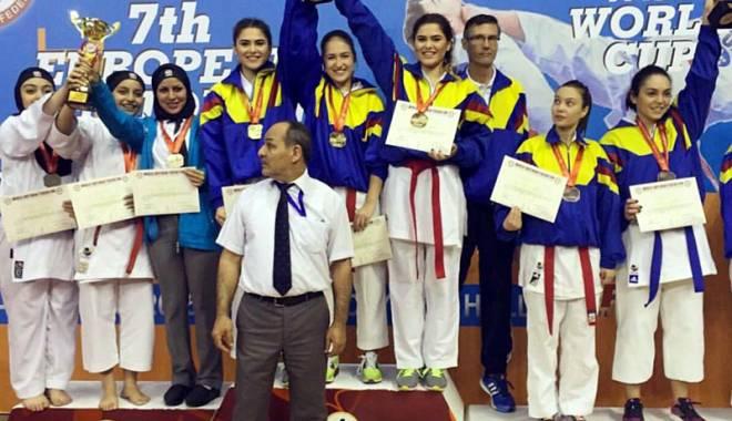 Foto: Salbă de medalii europene pentru karatiştii constănţeni
