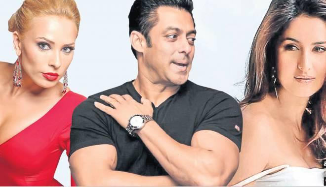 Foto: Salman Khan a cerut de soţie o actriţă indiană, chiar sub ochii Iuliei Vântur