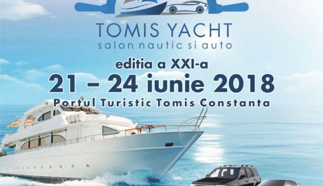 Foto: Salonul nautic și auto Tomis Yacht se deschide pe 21 iunie