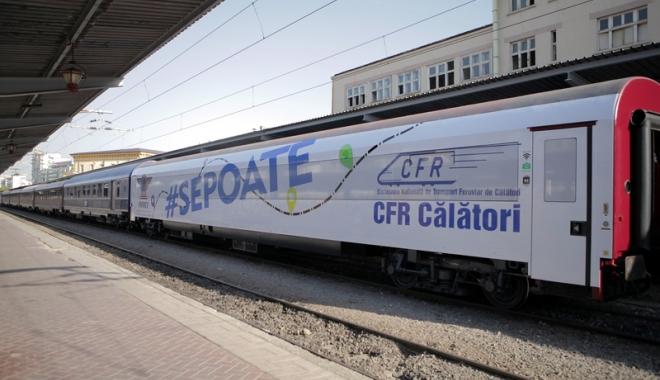 """Foto: """"Dacă nu se investește în calea ferată, în doar câțiva ani, nu va mai fi nimic de făcut!"""""""