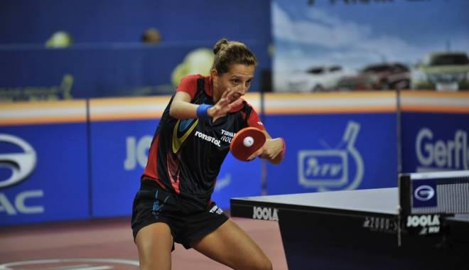 Foto: Tenis de masă: Eliza Samara, calificată în optimi la Europenele din Rusia