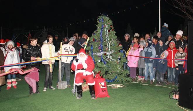 Foto: Sâmbătă  se dă startul sărbătorilor  de iarnă în comuna Peştera