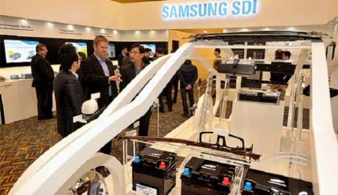Foto: Samsung îşi construieşte fabrică în Ungaria