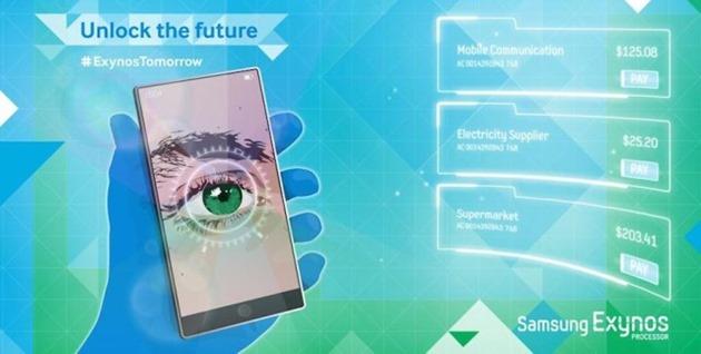 Foto: Samsung Galaxy Note 4 va integra un scanner de retină