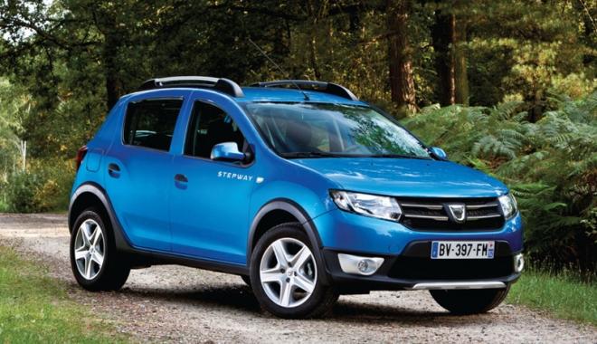 Foto: Sandero, locul 13 în topul celor mai bine vândute mașini în Europa