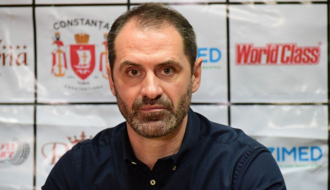 Foto: De la Constanţa, în Bucureşti! Sandu Iacob, noul antrenor al Stelei