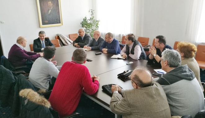 Foto: Reprezentanţii SANITAS au început colaborarea cu noul ministru al Sănătăţii