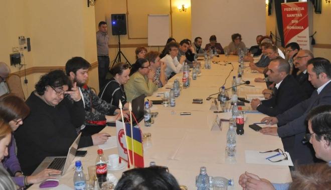 Foto: Federaţia SANITAS a înfiinţat comisia pentru medici