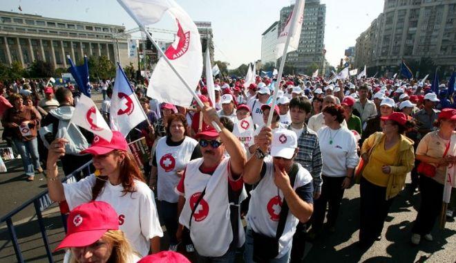 Foto: Informaţie importantă despre protestele Sanitas