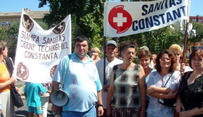 Foto: Sanitas ameninţă cu noi proteste! Ce răspunde conducerea Spitalului Judeţean Constanţa