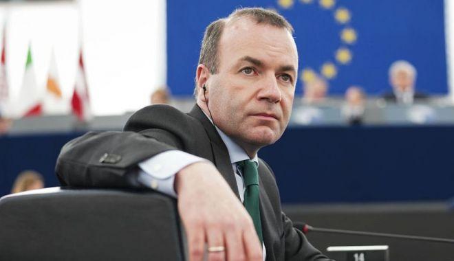 Foto: Şansele lui Weber la şefia CE, slăbite de divergenţele Macron-Merkel