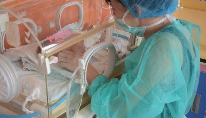 """Foto: Lucrări avansate la Secţia de Terapie Intensivă Nou-Născuţi """"Copiii vor primi cele mai bune tratamente"""""""
