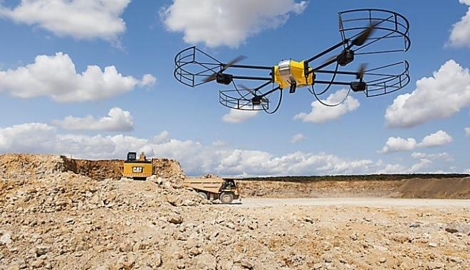 Foto: Şantierelor de pe autostrăzi vor fi supravegheate de drone