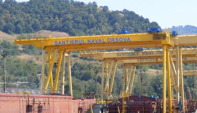 Foto: Șantierul Naval Orșova e pe profit  în primul trimestru din 2018