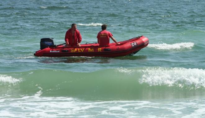 Foto: Săptămână de foc pentru salvamari, pe litoralul Mării Negre