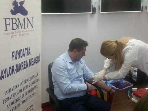 Foto: Angajaţii Primăriei Constanţa, testaţi pentru HIV şi hepatită