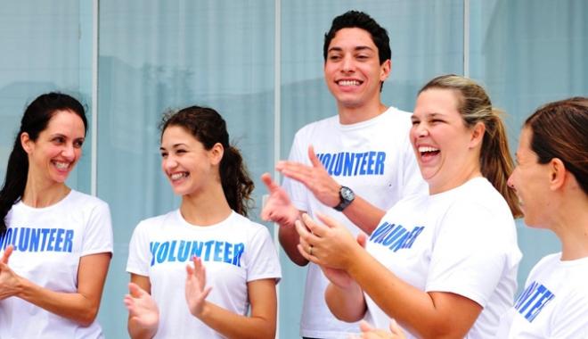 Foto: Săptămâna naţională a voluntariatului, la Constanţa