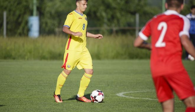 Foto: Şapte fotbalişti ai Academiei Hagi, convocaţi la naţionala U17