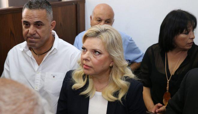 Foto: Sara Netanyahu, găsită vinovată de utilizare abuzivă de fonduri publice. Pedeapsa primită
