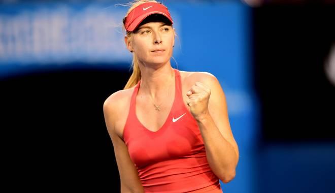 Tenis / Maria Șarapova, calificată în optimile de finală la Australian Open - sarapovajpg-1422012032.jpg