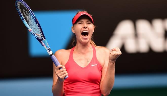 Foto: Tenis, Australian Open / Şarapova a acces în semifinale