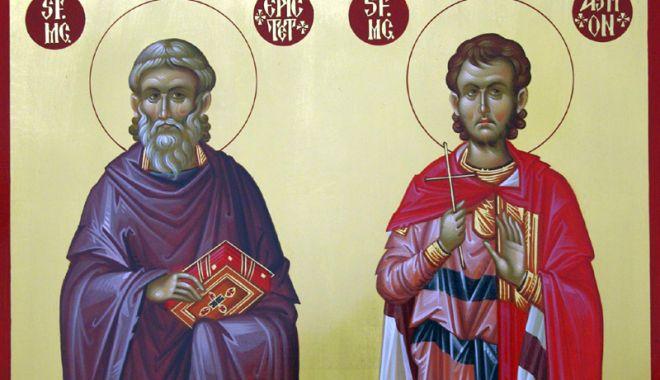 Foto: Sfinţii Epictet  şi Astion,  sărbătoriţi de Biserica Ortodoxă