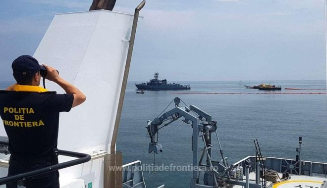 Foto: Garda de Coastă: 40 kg de sturion, confiscate de poliţiştii de frontieră tulceni