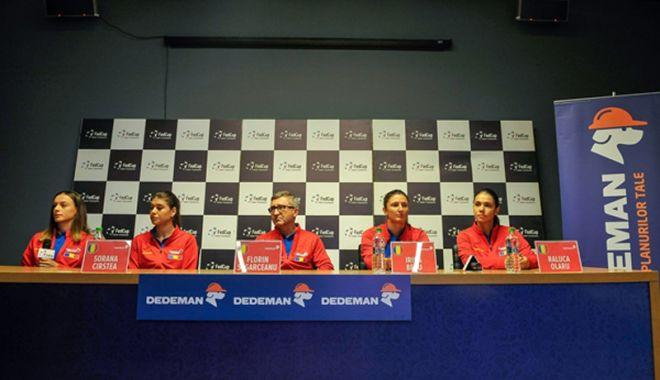Foto: S-a stabilit programul confruntării  din Fed Cup, dintre România şi Canada