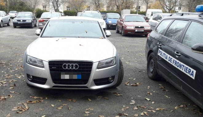 Foto: S-a trezit cu maşina confiscată de poliţişti, întrucât era furată din Italia