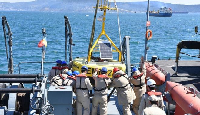 Foto: S-au întors în Portul Militar Constanţa după 5 săptămâni de misiuni