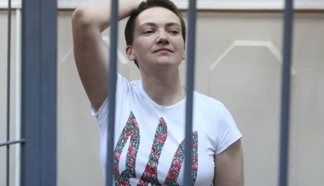 Foto: Nadia Savcenko, dată la schimb pentru doi ruşi închişi în SUA?
