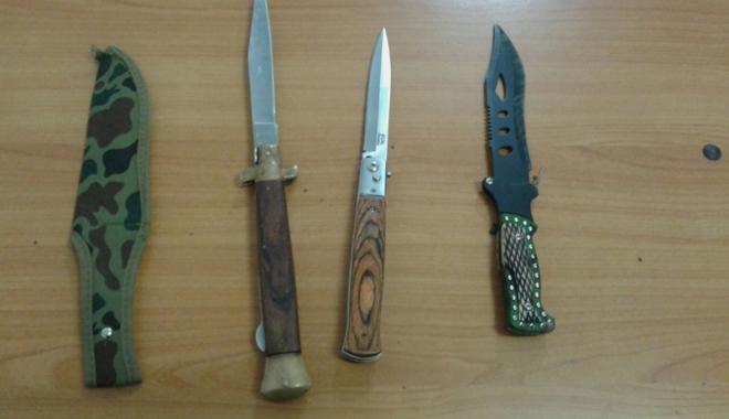 Foto: Scandal cu bătaie  şi cuţite, în Mamaia,  între zece persoane