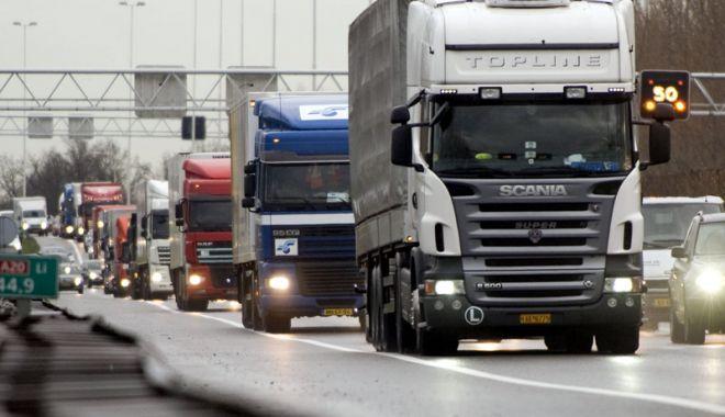 Foto: Schemă de ajutor de stat pentru transportatorii rutieri