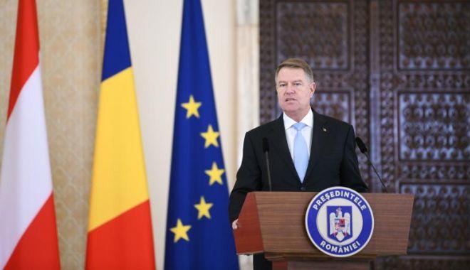 Foto: Preşedintele Klaus Iohannis, despre aderarea la Schengen