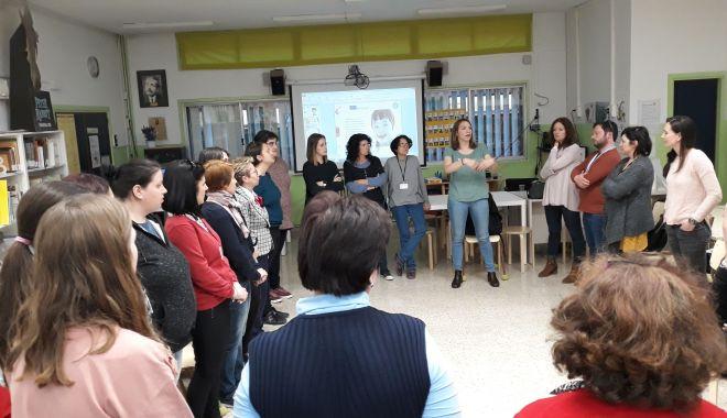 Foto: Schimb de experienţă în Spania, pentru elevii din Medgidia