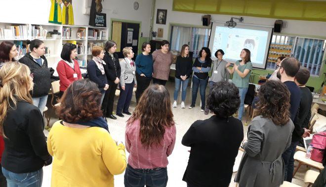 Schimb de experienţă în Spania, pentru elevii din Medgidia - schimbdeexperienta2-1552856595.jpg
