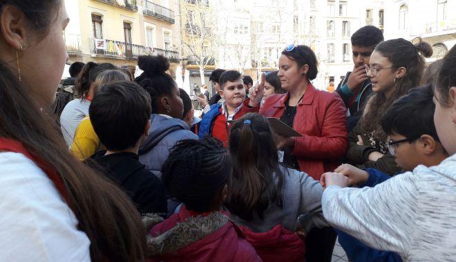 Foto: Elevii din Medgidia s-au şcolit în Spania