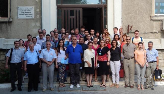 """Foto: Şcoala Balcanică  de Fizică Nucleară, găzduită de Universitatea """"Ovidius"""""""